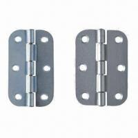 Quality Symmetrical hinges/iron hinges, made of steel, coated finish for sale