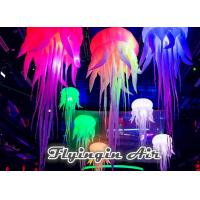 Hot Sale Hanging 3m Height Inflatable Jellyfish with Led Light for Sale
