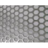 Quality Hexagonal Hole Perforated Metal Perforated Aluminum Sheet 2mm thick 3003 5005 5052 6061 3004 for sale