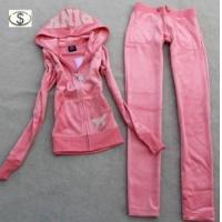 China Women′s Brand Velvet Tracksuits on sale