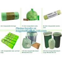 Buy cheap Eco Friendly Corn Starch Compostable Plastic Bag For Shopping, biodegradable from wholesalers