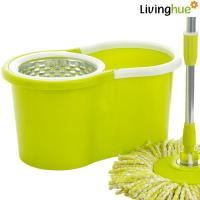 Quality fashionable hand press spin mop floor mop cost-effective mop for sale