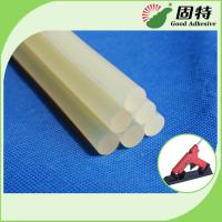 Quality Light White Transparent Semi-Transparent Hot Melt Glue Stick EVA Hot Melt Adhesive Stick For Bonding Paper And craftwook for sale