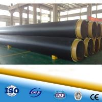 China Polyurethane foam heat resistant pipe steel pipe for district heating steel pipe in pipe on sale