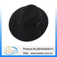 China High grade men floppy wool hat custom wholesale on sale