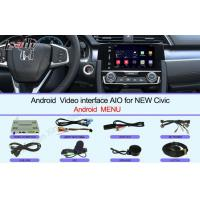 Quality HD 2016 Civic Honda Video Interface Touch screen Multimedia Android 6.0 for sale