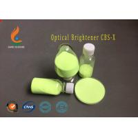 Buy Powdered Optical Bleaching Agent , CBS-X Optical Brightener Easily Dissolved In Cold Water at wholesale prices