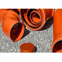 Quality Anti - Aging Upvc Plumbing Pipes , High Water Flow Upvc 110mm Pipe For Agriculture for sale