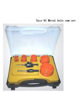 Quality JWT 7PCS HSS Bi Metal Hole Saw for sale