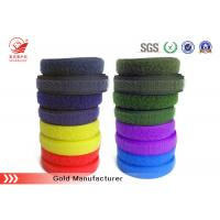 Quality Polyester Mixes Nylon Hook And Loop Hook Loop Tape 10mm - 180mm Width for sale