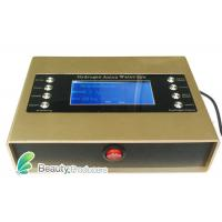 Quality Luxury Golden Color Ion Detox Foot Spa Machine Main For Detoxification for sale