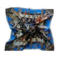 Buy Tiger Printed Silk Scarf (HP-2327) at wholesale prices