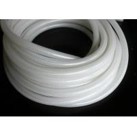 Buy cheap Polyester Braid Silicone Rubber Tubing , Flexible Silicone Hose Food Grade from wholesalers