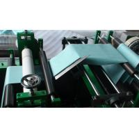 Buy cheap Folding Slicing Machine Non Woven Slitting Machine Servo Mechanical And Electrical Control product