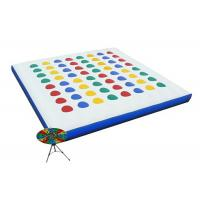 Quality Inflatable Interactive Games , Classic Blow Up Twister Game For Kids for sale