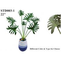 China Clear Veins Artificial Leaves Of Tree Philodendron Highly Simulated Upscale on sale