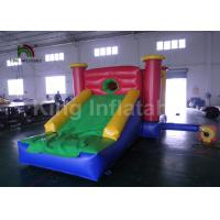 Buy cheap Home Children Jumping Bouncy Castles With Slide / Inflatable Air Bouncer from wholesalers