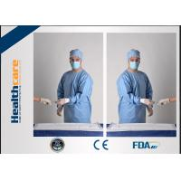 Quality SBPP Medical Disposable Protective Gowns Ultrasonic Disposable Sterile Gowns CE / ISO for sale
