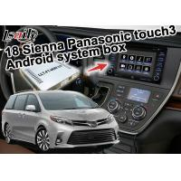 Quality Android System Car Navigation Box Original Touch Screen Controlled For Toyota Sienna for sale