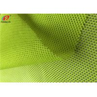 China Neon Colour Fluorescent Mesh Fabric Police Uniform Material Eco Friendly on sale