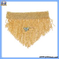 Bead Belly Dance Hip Scarf Gold-F00710