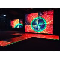 Buy Stage Interchange P3.91 LED Dance Floor Hire Full Color Video Screen at wholesale prices