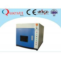 Buy cheap 30 W Portable Fiber Laser Marking Machine for SS Aluminum metal , 70x70mm product