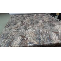 China Woven fabric laminated / printed EVA rubber foam mat for boat deck on sale