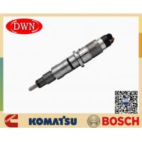Buy cheap BOSCH Fuel Injector 0445120236 For KOMAT'SU Excavator 6745-12-3100 With Cummins from wholesalers