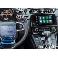 Quality Cr-V Multimedia Honda Video Interface Built in Wifi Bluetooth Mirror link for sale