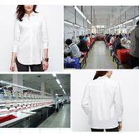 China This summer top fashion long sleeve white lady fashion blouse by China dress manufacturers on sale