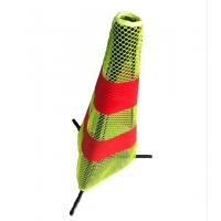 Quality Reflective Collapsible Road Traffic Cones 600mm Textile Material for sale