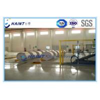 Industrial Paper Roll Handling Equipment With Retractable Sectional Stopper