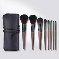 Quality 8 PCS Special Color Elegant Makeup Brushes Set Silky And Durable Bristles for sale