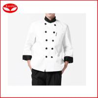 Quality White Women Chef Works Clothing , custom made chef Wear UK Coats XS - 3XL for sale