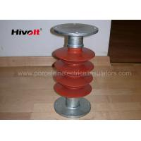 Quality 35kV Silicone Rubber Station Post Insulator Red Color For Switch Parts for sale
