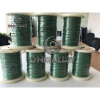 Buy cheap GB/T Standard Color Alumel Thermocouple Alloy Cable 500 Degree Fiberglass product