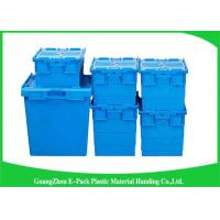 Quality 60*40*46cm Heavy Duty Moving Turnover Crate Wholesale Plastic Storage Containers for sale
