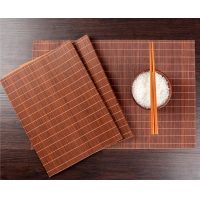 Buy cheap Eco Friendly 45x30cm 5mm Thick Woven Bamboo Placemats from wholesalers