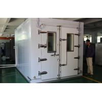 Buy cheap Automatic Walk In  Climatic Test Chambers Air Cooled Type Condenser Touch Screen product