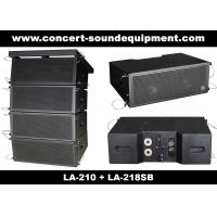 """Buy cheap Concert Sound Equipment / 480W Line Array Speaker With1.4""""+2x10"""" Neodymium Drivers product"""