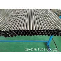 Quality High Polished Welded Titanium Tubing ASME SB338 Material OD 38.1 X 0.711 X 9500MM for sale