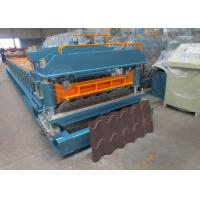 Quality Cr12 Mould Steel Cutter Roof Tile Roll Forming Machine 5.5KW ISO9001 for sale