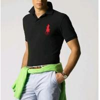 Buy cheap Men' s polo shirt, Black color from wholesalers