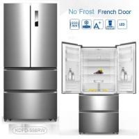 China Auto Defrost French Fridge Freezer , French Door Style Refrigerators 4 Star Rating on sale