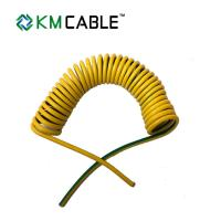 Quality Solar Light Tower coiled electrical cable 7 core0.75sqmm TPU flexible extension cord​ for sale