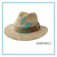 China Hot sale sombrero straw fedora hat wholesale on sale