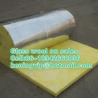 China Glass wool blanket with Aluminum foil,fiberglass wool roll on sales on sale