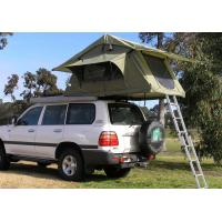 Quality Fireproof 4 Person Roof Top Tent , Folding Roof Tent With Large Window for sale