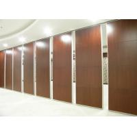 Buy cheap Acoustic Sliding Folding Partitions Movable Walls With Aluminium Door Track from wholesalers
